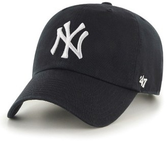 Women's '47 Clean Up Ny Yankees Baseball Cap - Black $25 thestylecure.com