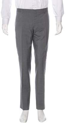 Burberry Wool Flat Front Pants