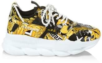 Chain Reaction 2 Baroque Platform Sneakers