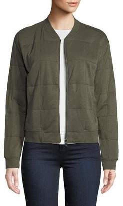 Neiman Marcus Majestic Paris for Quilted Bomber Jacket