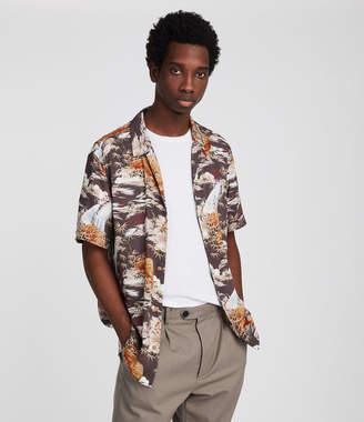 AllSaints Sumatra Hawaiian Shirt