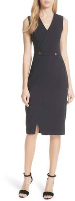 Ted Baker Ted Working Title Faux Wrap Dress