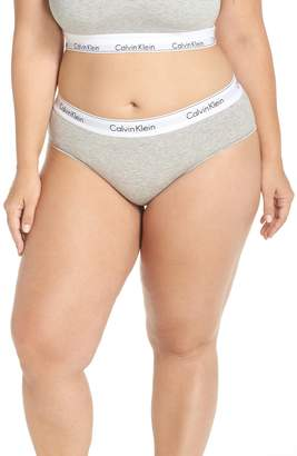 Calvin Klein Modern Cotton Blend Hipster Briefs