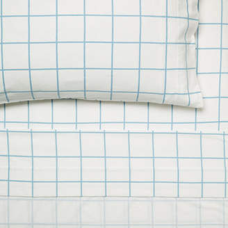 Hiccups Blue Blanky Flannelette Sheet Set
