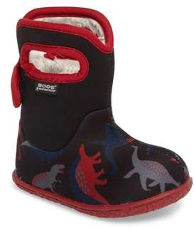Bogs Baby Bog Classic Dino Insulated Waterproof Boot