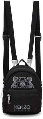 Kenzo Black Mini Tiger Backpack