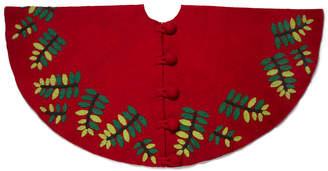 Arcadia Leaf Pattern Tree Skirt
