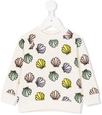 Stella McCartney shell print sweatshirt