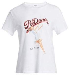 RE/DONE Cotton Flyer Graphic Tee