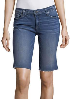 Paige Frayed Denim Shorts