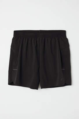 H&M Ultra-light Running Shorts - Black