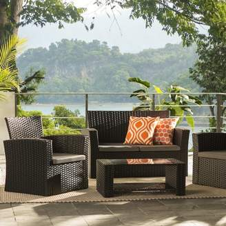 Zipcode Design Charmain Sofa Set with Cushions Frame