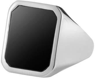 Mateo Bijoux Men's Bold Signet Band Ring