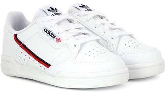 adidas Kids Continental 80 leather sneakers