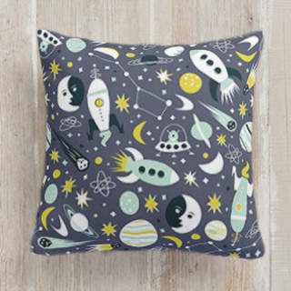 Space Time Square Pillow