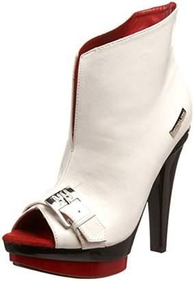 The Highest Heel Women's Sasha-103 Platform Ankle Boot