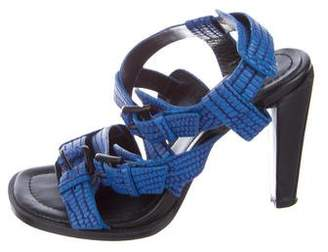 3.1 Phillip Lim Embossed Leather Sandals