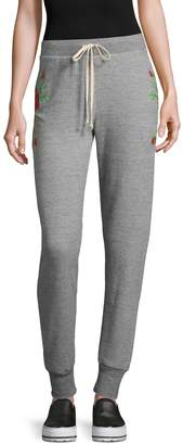 Wildfox Couture Women's Rose Jogger Pants