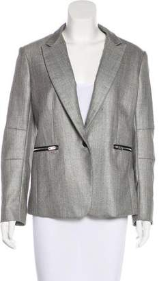 Rag & Bone Wool Notch-Lapel Blazer