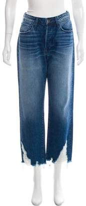 3x1 Distressed High-Rise Jeans w/ Tags