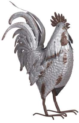 A&B Home Suvi Iron Rooster Accent