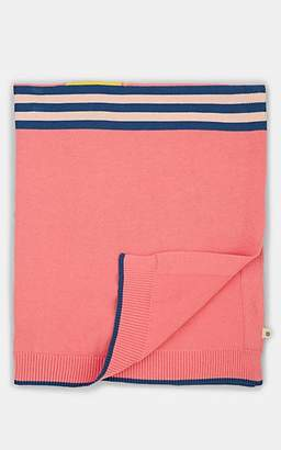 The Bonnie Mob Kahlo Organic Cotton Baby Blanket - Pink