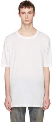Faith Connexion White Oversized Distressed T-Shirt