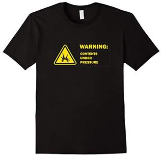 Contents Under Pressure - funny t shirt