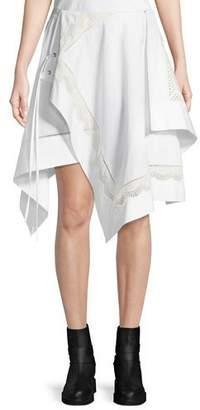 3.1 Phillip Lim Embroidered Handkerchief Skirt