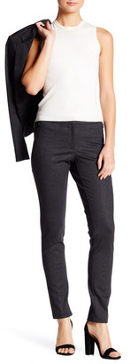 Amanda & Chelsea Mini Box Ponte Narrow Front Zip Pant $110 thestylecure.com