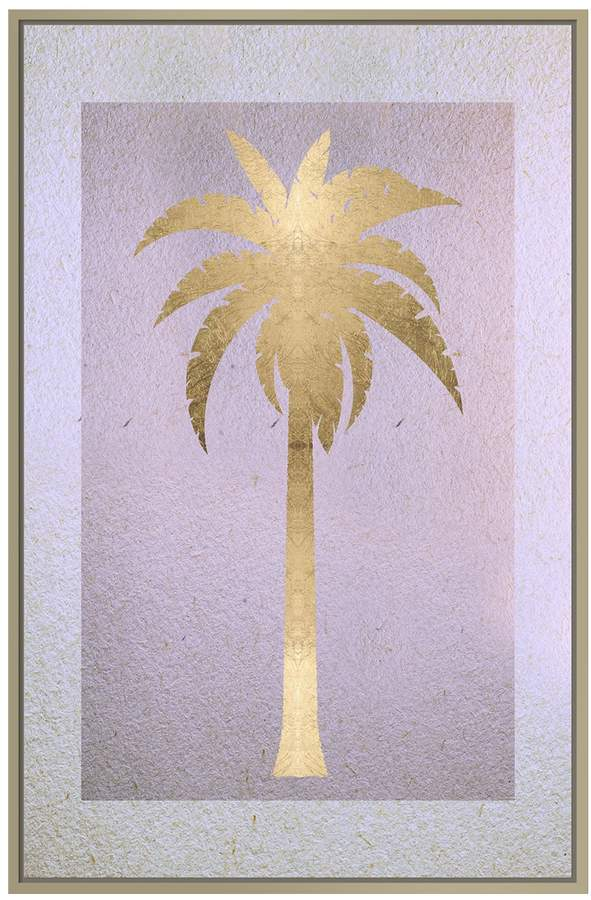 Gold Palm (Framed Giclee)