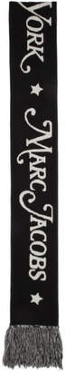 Marc Jacobs Black New York Magazine Edition Logo Scarf