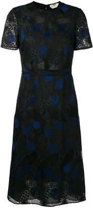 Fendi embroidered dress