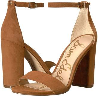 Sam Edelman Yaro Ankle Strap Sandal Heel Women's Dress Sandals