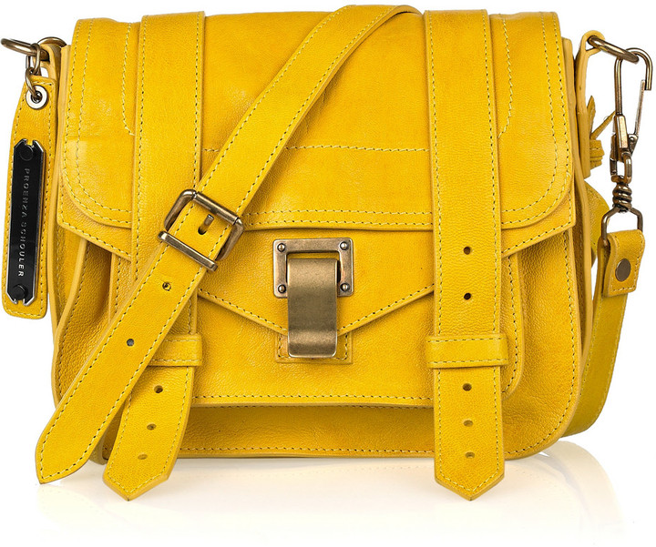 Proenza Schouler PS1 Small leather satchel