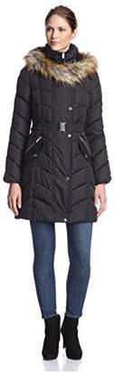 Rachel Rachel Roy Women's Gathered Collar Puffer Coat $66.14 thestylecure.com
