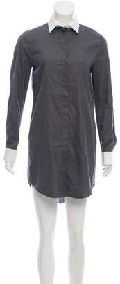 Balenciaga Mini Long Sleeve Shirtdress w/ Tags