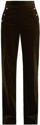 Vanessa Bruno Hadrian wide-leg stretch-cotton corduroy trousers