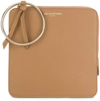 Sara Battaglia O-ring clutch bag