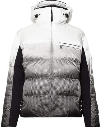Bogner Flames Quilted Down Ski Jacket