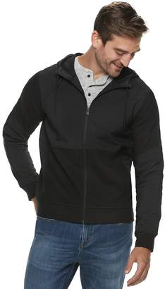 Marc Anthony Men's Slim-Fit Mixed Media Full-Zip Jacket