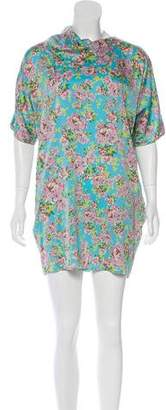 Tucker Floral Short Sleeve Tunic
