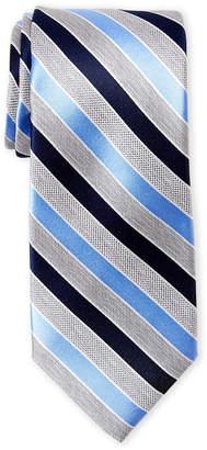 Perry Ellis Portfolio Ramadel Stripe Silk Tie