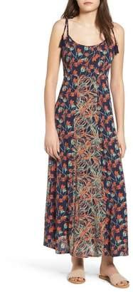 Raga Botanic Nights Tie Strap Maxi Dress