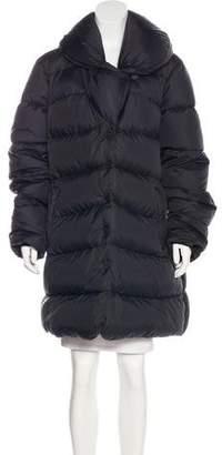 Armani Collezioni Quilted Puffer Coat