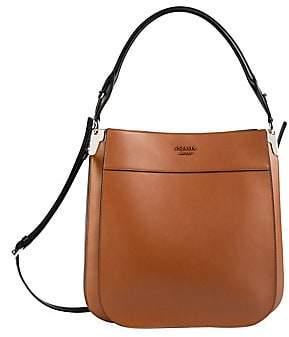 Prada Women's Large Margit Leather Shoulder Bag