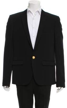 Balmain One-Button Wool Blazer w/ Tags