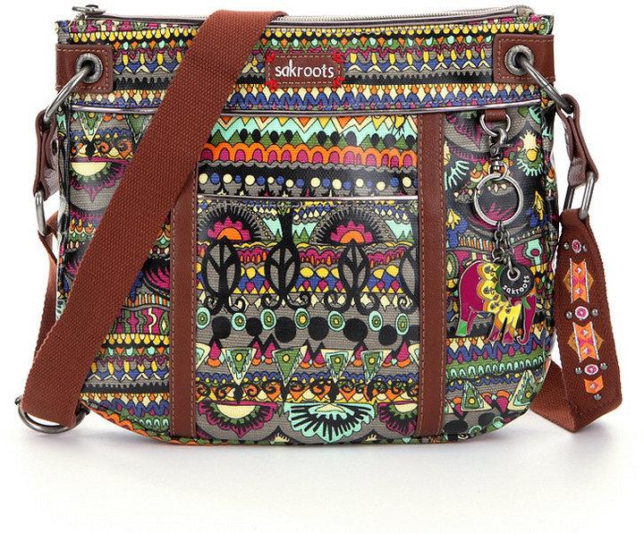 Sakroots Artist Circle Small Cross-Body Bag