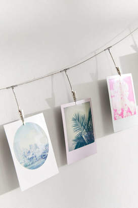 Metal Photo Clips String Set