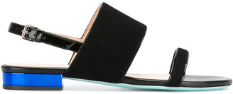 Ps By Paul Smith contrasting sole flat sandals $395 thestylecure.com